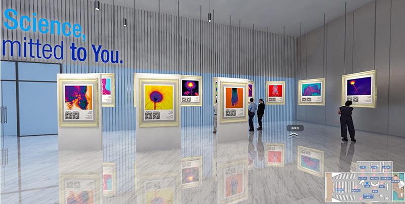 线上展厅画展区